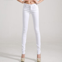 New spring fashion 2014 summer trousers candy-colored 24-color colors women pencil pants feet pants & capris women's jeans