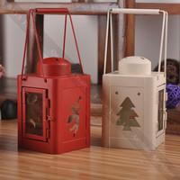 Cute Home Decor Lantern Christmas Decor Candle Holder
