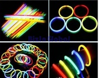 Drop Shipping  Glow Stick Party Supply Light Bracelets Favors Free Shipping 100 pcs / lot