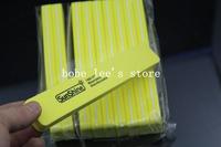 10pcs/Lot High Quality Professional Nail File Manicure Tool Kits Sunshine 100/180 Washable Disinfectable Nail Art Buffer