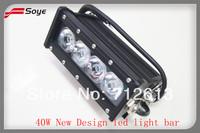Hot Selling 6'' 40W CREE led light bars,led bulb light,led lights(BSPL04BH)