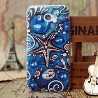 Free shipping plastic starfish phone case high quality Xiaomi M2 mi2 Cover Case for Xiaomi M2s 2s mi2s