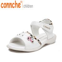 2014 female child sandals children shoes princess shoes female sandals  size 26-36
