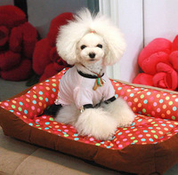2014 Hot ! Free Shipping Dog Cat Pet Wave Point  Bed,New Wholesale 1PCS Pet nest