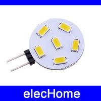 High quality G4 Led Bulb AC 12V 24V 6 Leds LED Lamp Light  1.8W Bulbs Lighting AC 10-30V Free Shipping