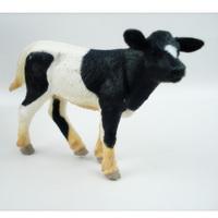 Safari animal model toy calf small -Friesian decoration
