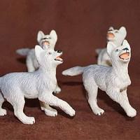 Child safari artificial animal model toy wild animal decoration small