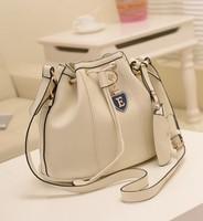 IBAG Free Shipping Cheap Women Leather Handbag Lady Shoulder Messenger Cross Body Bag Female Bucket Bags Drawstring