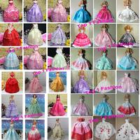 2014 Wholesales 50pieces/slot   BJD 1/6 Princess doll dress for For barbie doll