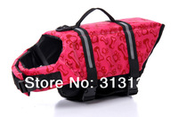 FREE SHIPPING DOG LIFE JACKET & DOG LIFE VEST PET SAVER XS, SMALL, MEDIUM, LARGE, XL PINK BONE