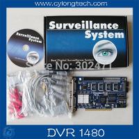 DVR1480 GV1480 Video Capture Card  16chs GV Card