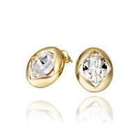 2014 new arrival wholesale free shipping 18KGP E478 18k gold earrings fashion jewelry nickel free nice earrings for women