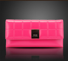 patent leather clutch promotion