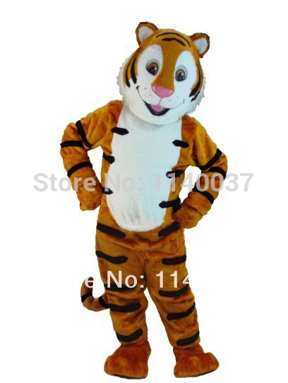 Tiger cat tigger mascot costume custom fancy costume anime cosplay kits mascotte MADAGASCAR fancy dress carnival costume(China (Mainland))