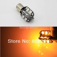 2pcs bau15s  7507 16 Power SMD + CREE LED Car Turn Signal Light Bulb Amber 12V