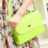 Shoulder cross-body women's bags 2014 women's handbag summer candy color fashion messenger bag Candy color small bag