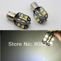 2pcs 1156 BA15S 16 SMD + CREE LED White Car Tail/Reverse/Backup Light Bulb 400 Lumen 12V