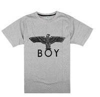 Brand Trend fashion boys classic basic solid color t-shirt cotton hiphop boy london t shirts for man cotton casual short tshirt