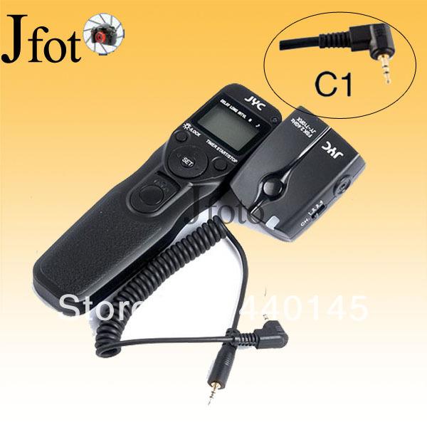 JY-710-C1 Wireless Timer Remote Control shutter release cable for Canon 600D 1100D 1000D 500D 450D 400D 350D 300D DSLR camera(China (Mainland))
