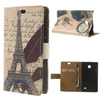 High Quality For Nokia X A110 Case,PU Leather Magnetic Flip Case For Nokia X A110 13 Patterns Free Shipping