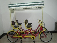 Four person bicycle car 4runner double sightseeing car double car