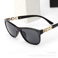 High Quality 2014 NEW Retro Rivet fashion Suqare Frame Glasses women sunglasses oculos de sol