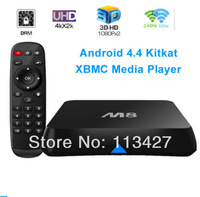 M8 Amlogic S802 Quad Core Android TV Box 2G/8G Mali450 GPU 4K HDMI XBMC Bluetooth 2.4G/5G Dual WiFi DOLBY TrueHD DTS HD Mini PC
