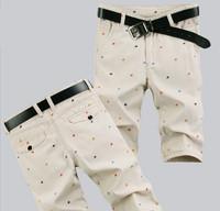 Free Shipping 2014 Hot Sale male's leisure/casual short trousers man's shorts black/gray/khaki Drop Shipping