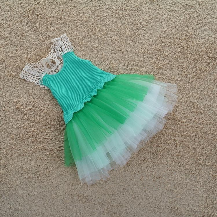 BD119 hot selling girls princess dresses hollow out ball gown unique design children's dress for party kids lace skirts retail(China (Mainland))
