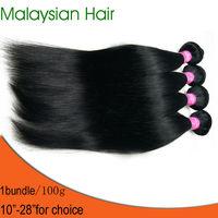 NEW Virgin Straight Hair Malaysia Hair Extension 1bundle Free shipping