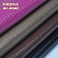 Qx8550 PU fabric stone pattern artificial leather crocodile pattern leather sofa accessories 7