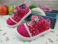 Free shipping new 2014 spring and autumn cartoon toddler shoes soft baby shoes canvas shoes 070