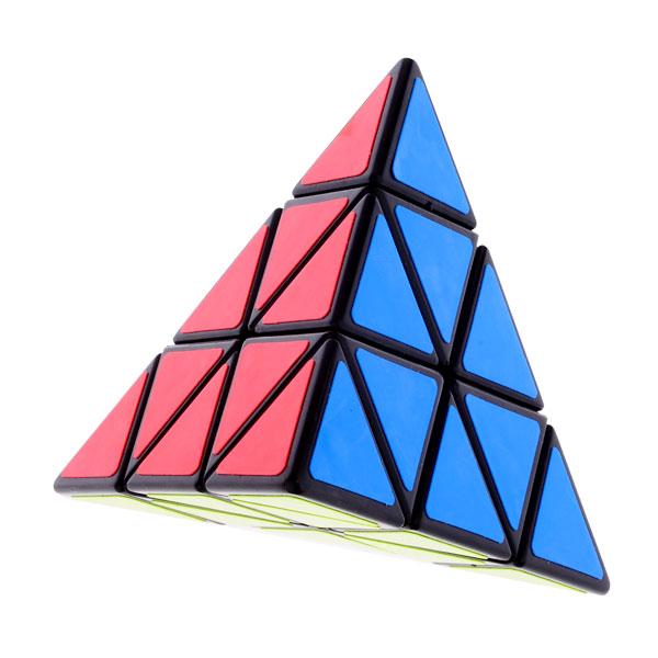 2014 Brand New Shengshou Triangle Pyramid Pyraminx Magic Cube - Black Puzzle Educational Toy Special Toys(China (Mainland))