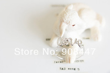 10 PCS lot R18 Hot Fashion Exquisite Alloy Love Letters Rings Fashion ring friendship ring cute
