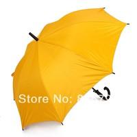 Super sun yellow silver tape straight umbrella oversized long-handled umbrella 3