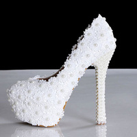 women pumps 2014 NEW ARRIVAL rhinestone lace heeled wedding shoes lace heel bridal wedding shoes pump