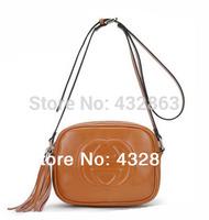 Free Shipping Women Tassel Handbags New 2014 Crossbody Women Tassel Bag Genuine Leather Tassel Handbags Shoulder Bags