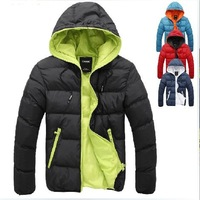 2014 top fashion rushed ruaye thickening thermal cotton-padded jacket slim with a hood wadded hot-selling male winter outerwear