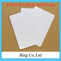 Freeshipping ! 10PCS/lot EM4100 125Khz RFID card compatible RDM630 for Arduino (ID card)