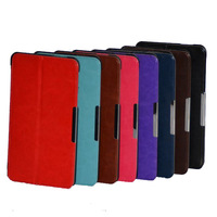 Luxury Slim Magnetic Smart Cover Stand Folding Folio Leather Case For ASUS Fonepad 7 Dual SIM ME175CG