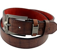 Free shipping fashion Western popular high quality men's belts/PU leather belt for man wholesale 1pc B36