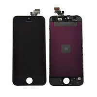 Free Shipping Original OEM Black LCD Lens Screen Touch Digitizer Display Repairs For Iphone 5G