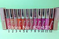 Wholesale Cosmetic Brand Makeup HOT  HOT   LIP GLOSS 12 PCS /LOT