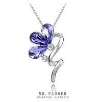 brand 2014 fashion austrian crystal necklace women