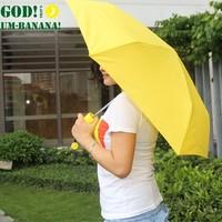 Small fresh banana umbrella folding sun umbrella sun umbrella uv protection pencil umbrella sun umbrella
