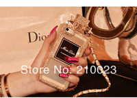 Fashion Perfume BottlesCover Case for iphone 4 4s iphone 5 5s Scent good quality TPU bag case with retail package FREE SHIPPING