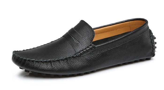 2014 neuen markennamen designer leder männer Wohnungen casual schuhe weichen loafer turnschuhe komfortables Fahren a32 schuhe