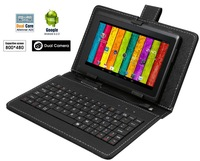 "China-7"" Android 4.2 A23 Tablet PC Dual Core Dual Camera MID WiFi Bundled Keyboard"