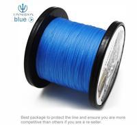No.1 Quality&Service 4 Strand Blue Color 500M Japan Multifilament Super Strong 100% PE Braid Fishing Line 45LB