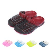 Summer hole semi-drag mules shoes casual shoes sandals lovers design hole shoes male